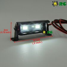 RC 1/10 Aluminum LED Light Bar 6V ~ 7.4V JR Plug 2 lights F AXIAL RC4WD Crawler