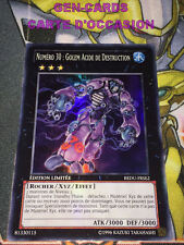OCCASION Carte Yu Gi Oh NUMERO 30 : GOLEM ACIDE DE DESTRUCTION REDU-FRSE2