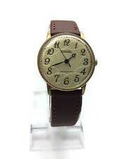 Gold plated USSR mechanical mens watch RAKETA Breguet 2609. HA guilloche dial