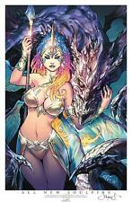 ALL NEW SOULFIRE LBCC EXCLUSIVE ART PRINT SIGNED PETER STEIGERWALD