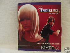 Matrix TRIX REMIX Styling to Go SAMPLER with Interactive CD Includes Switch!!