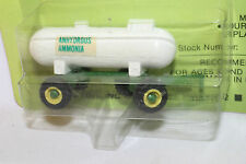 Mini Toys Anhydrous Ammonia Trailer, Green,  New on Card, 1/64th Scale