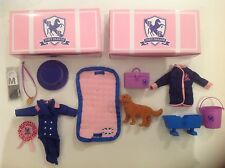 2 New Boxed Pony Parade Chad Valley Sets Of Horse Riding Clothes & Gear.