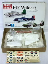 MPC 1112~F4F Wildcat~1:72~WW2 US Navy/Marines Fighter~Model Kit~Profile Series