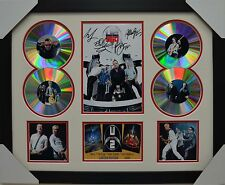 U2 4CD SIGNED FRAMED MEMORABILIA LIMITED EDITION #1