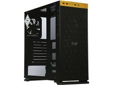 IN WIN 805 GOLD / Black Aluminum / Tempered Glass ATX Mid Tower Computer Case Co