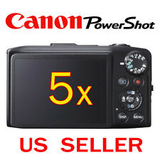 5x Canon PowerShot SX280 HS Camera LCD Screen Protector Guard Shield Film