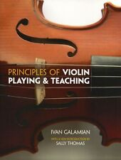 Ivan Galamian Principles Of Violin Playing & Teaching Learn to Play Music Book