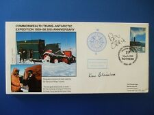 1988 TRANSANTARCTIC EXPEDITION COVER SIGNED BY BILL ODDIE [ THE GOODIES ]