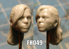 "FH049 Custom Cast Sculpt part Female head cast for use with 3.75"" action figures"