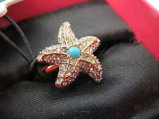 Valentines Day Juicy Couture STARFISH Ring *NEW * RARE * 2014