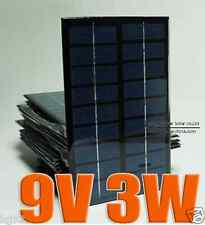 9V 3W 3Watt Mini poly solar Panel small solar cell PV module for DIY solar Kits
