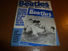 BEATLES BOOK Appreciation Society # 3 MONTHLY Magazine July 1976 3rd ISSUE
