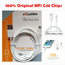 Lightning Data Sync Cord USB Cable Charger For iPhone 5 5G 5S 5C 6 plus iPad MFI