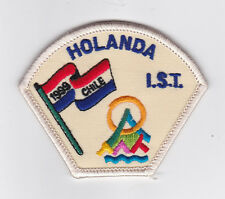 1999 World Scout Jamboree HOLLAND SCOUTS SERVICE STAFF (IST) Contingent Patch