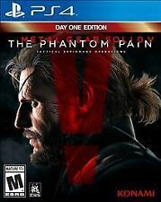 Metal Gear Solid V: The Phantom Pain -- Day One Edition Sony PlayStation 4 PS4