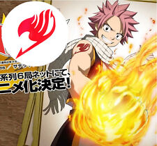 3PC Cosplay Fairy Tail Natsu Dragnee Temporary Waterproof Tattoo Sticker Toy