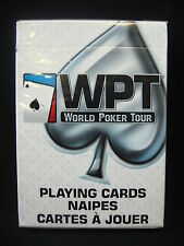 1 Deck World Poker Tour WPT Sealed Playing Cards From Maker of Bee Casino Cards