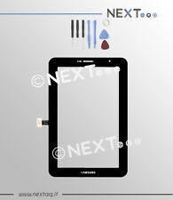 "Touch screen per schermo samsung galaxy tab 2 nero P3100 7"" + kit"