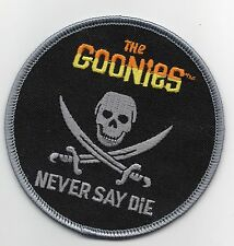 PARCHE THE GOONIES NEVER SAY DIE 9 CMS   PATCH