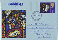28 OCTOBER 1970 CHRISTMAS AIR LETTER NEWCASTLE UPON TYNE FDI