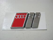 Audi S6 C4 Emblem  Schriftzug 4A5853735E Heckklappe Limousine A6 V6 V8 20V Turbo