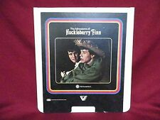 THE ADVENTURES OF HUCKLEBERRY FINN VidAmericaVestron Video CED Videodisc