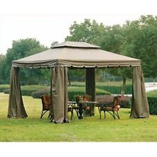 Garden Winds 10 x 12 Scalloped Gazebo Replacement Canopy