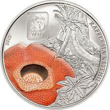 100 Fra 2015 Central African Republic - WWF - World Wildlife Fund -  Rafflesia