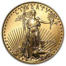 1996 1/2 oz Gold American Eagle Coin - Brilliant Uncirculated - SKU #4728