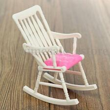 Furniture Rocking Chair Living Room for Barbie Doll Dollhouse Toy Accessories