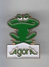 RARE PINS PIN'S .. ANIMAL GRENOUILLE FROG  AGORA FRANCE ~AW