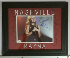 Connie Britton Autographed Signed 8x10 Framed 11x14 Rayna James Nashville JSA