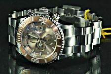 Invicta 18003 Sea Base Swiss  Rose Gold Tone Dial Steel Watch  With Wooden Box