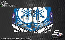 YZF250 450 2007-2009 radiator louver decals stickers louvre graphics 2008 Yz450f