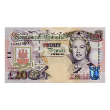 *jcr_m* Gibraltar 20 Pounds 2004 P.31 *Uncirculated*