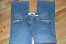 NEXT JEANS SIZE 14 REG WITH LOVELY DIAMOND DETAIL ON POCKETS