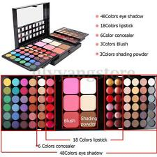 Women Makeup Set Kit Eye Shadow Eyeliner Lip Gloss Palette Blusher Full 78 Color