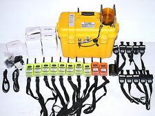 Gace Tpass-3 Confined Space Telemetry Safety Kit 8xTpass3 2xRepeaters Fire Fight