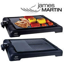 JAMES MARTIN TABLE TOP NON STICK HOT PLATE GRILL GRIDDLE SKILLET BBQ PAN ZX833