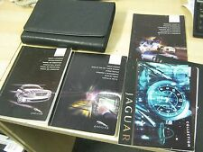 JAGUAR X-TYPE OWNERS MANUAL HANDBOOK  2001-2006 COVERS Sat navigation