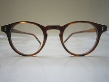 OLIVER PEOPLES  O' MALLEY IVY LEAGUE GREAT GATSBY VINTAGE EYEGLASSES BLONDE SIR