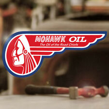 Mohawk Road Chief Oil sticker decal hot rod rat old school left 5.5""