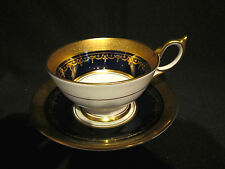 Aynsley GEORGIAN COBALT - Cup & Saucer