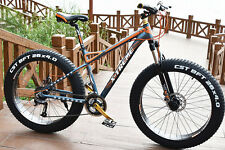 21speed 26inch 4.0 fat tire aluminum alloy bicycle mtb mountain sand snow bike