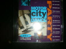 Motor City Dance Party-ONE- The Foot Stompers-Rare CD QUALITY
