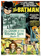 BATMAN LOBBY CARD POSTER OS 1943 COLUMBIA SERIAL DOOM OF THE RISING SUN