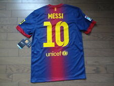Barcelona #10 Messi 100% Original Jersey Shirt S BNWT NEW 2012/13 Home