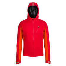 Rapha Red/orange Hooded Rain Jacket. Size Extra Small. NEW