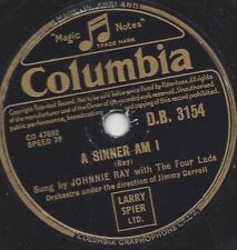 Johnny Ray und die Four Lads  : Faith can move Mountains + A Sinner am i